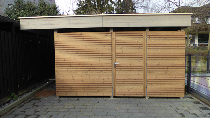 Carports Holz Schroeer Bauen Und Wohnen