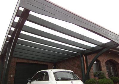 Carport mit Milchglas-Dacheindeckung in Bocholt 511798 (2)