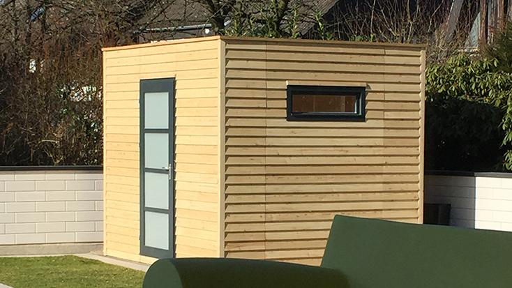 Holz im Garten - Gartenhütten von Holz-Schröer