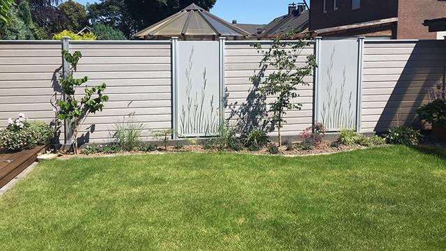 Holz im Garten - Gartenzäune von Holz-Schröer