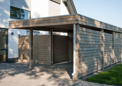 Holz-Schröer Standard Carport mit Seitenverkleidung (2)