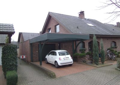 CS Carport mit Glasdach