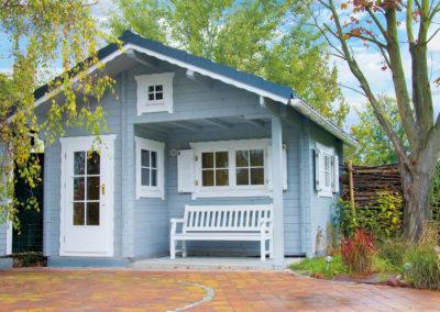 CS Freizeithaus Alba mit Schlafboden Gartenhaus
