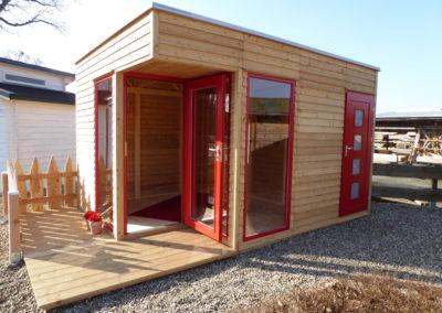 CS Gartenhaus Cubo mit zusätzlichem Geräteraum