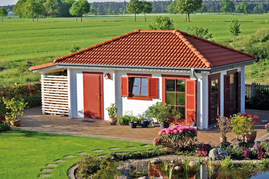 Häufig Gartenhäuser - Holz Schroeer Bauen und Wohnen WO37