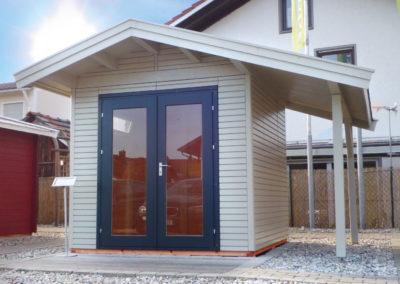 CS Gartenhaus mit Seitendach
