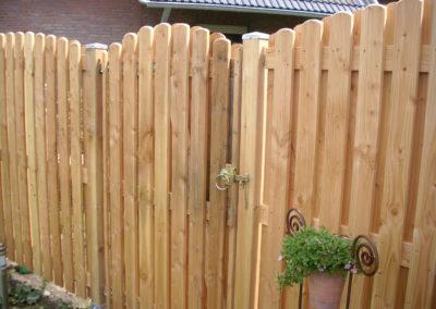 Gartentor Krudenburg auf Maß gefertigt