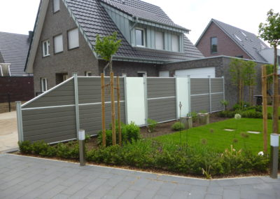 moderne zaunanlagen zaun sicherheit schiebetor anlage. Black Bedroom Furniture Sets. Home Design Ideas