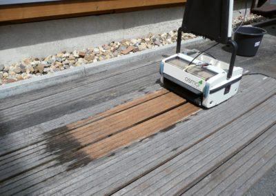 Terrassenreinigungsmaschine - bei Holz-Schröer im Verleih