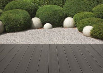Terrasse anthrazit terrafina