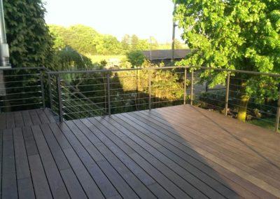 Terrassendeck ThermoEsche als Balkonbelag