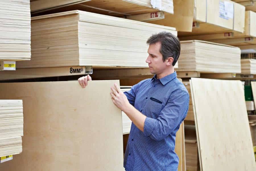 Plattenwerkstoffe aus Holz