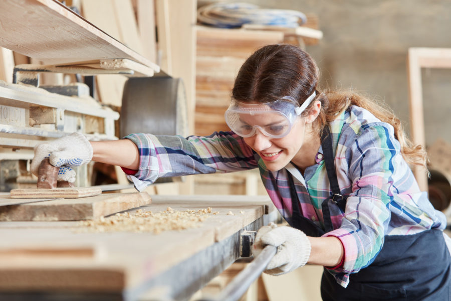 Bauen mit Holz. Für Hobby- und Profi-Handwerker.