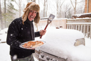 Grillen im Winter – Grillplanks