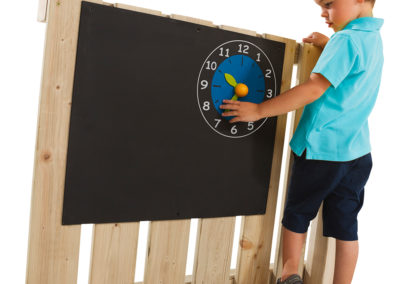 Black Board with Clock Imagebild 514.010.001.001_A