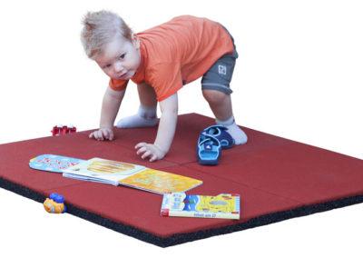 Multi-Play Fallschutzmatten rot 69221