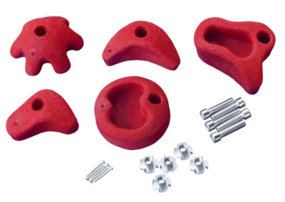 Multi-Play Klettersteine rot 5er Set 69216